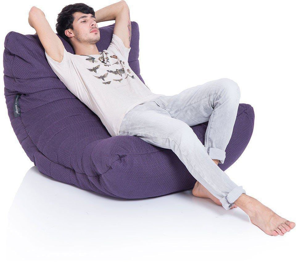 ambient lounge acoustic sofa aubergine dream