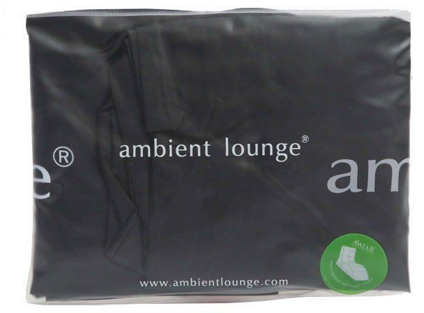 ambient lounge avatar sofa fitted cover zwart
