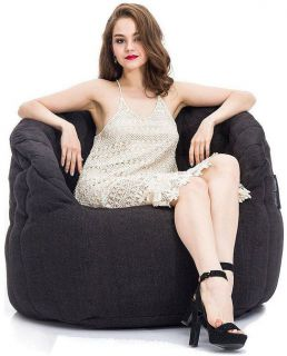Ambient Lounge Butterfly Sofa - Black Sapphire