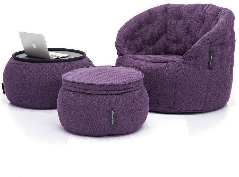 ambient lounge designer set contempo package aubergine dream