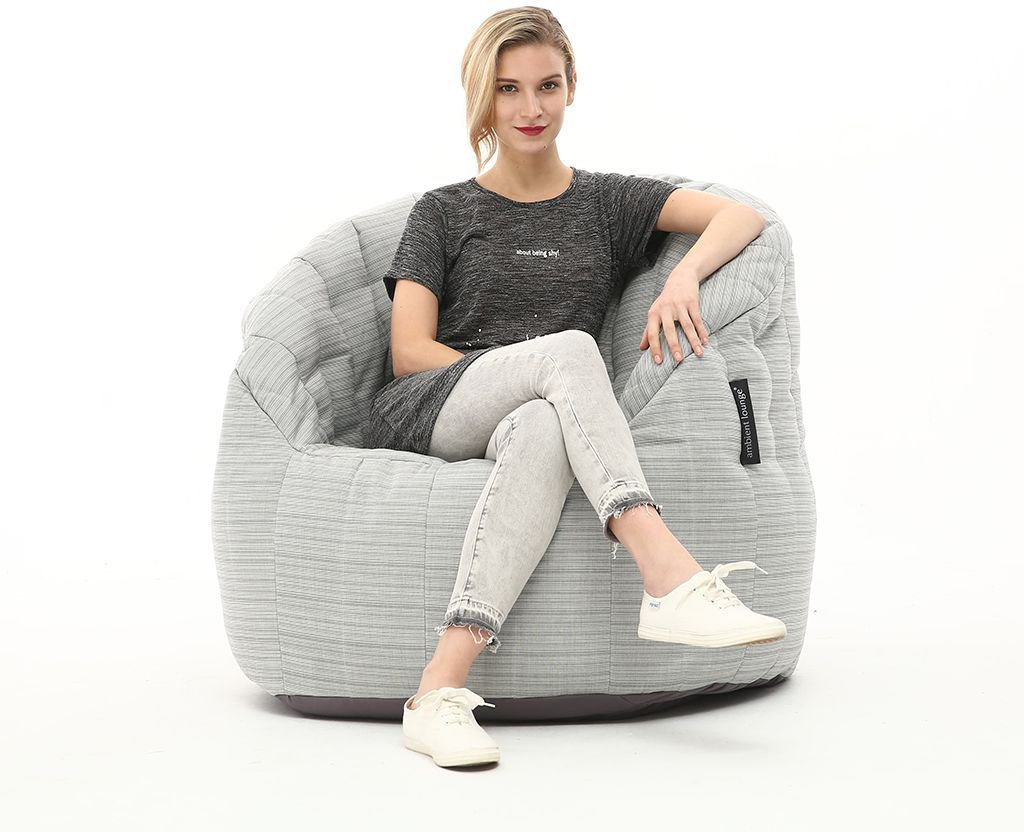 ambient lounge outdoor butterfly sofa silverline