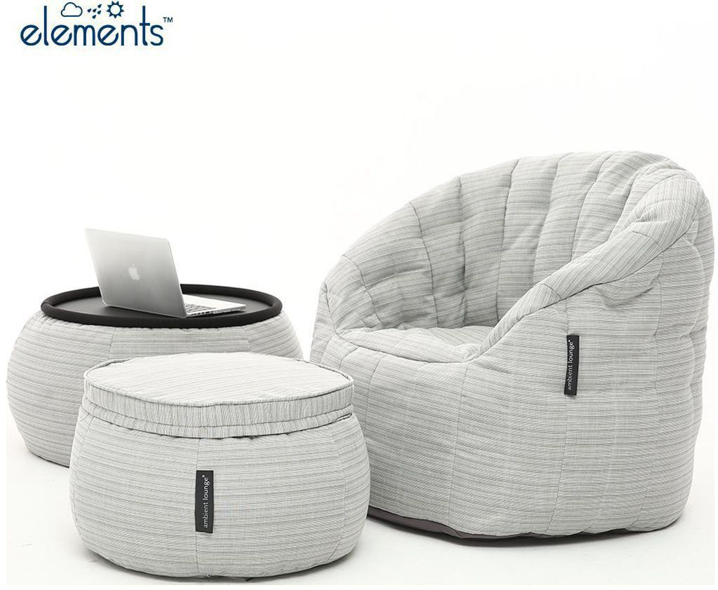 ambient lounge outdoor designer set contempo package silverline