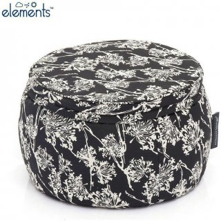 Ambient Lounge Outdoor Poef Wing Ottoman - Nightbloom