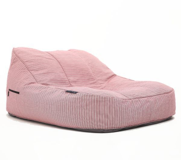 ambient lounge outdoor satellite twin sofa raspberry polo