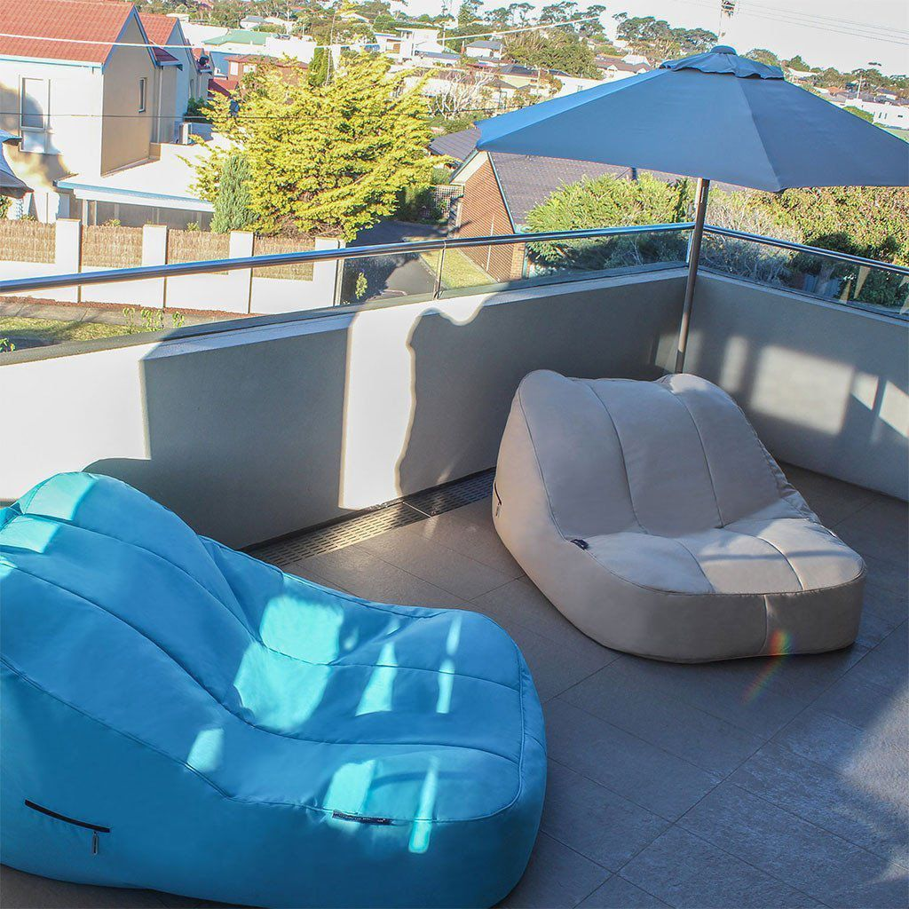 ambient lounge outdoor satellite twin sofa yacht club cream