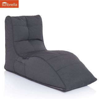 Ambient Lounge Outdoor Sunbrella Avatar Sofa - Black Rock