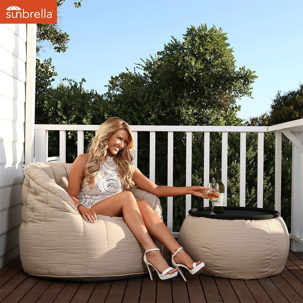 ambient lounge outdoor sunbrella butterfly sofa mudhoney dune
