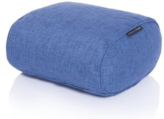 Ambient Lounge Poef Ottoman - Blue Jazz