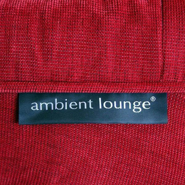 ambient lounge poef ottoman wildberry deluxe