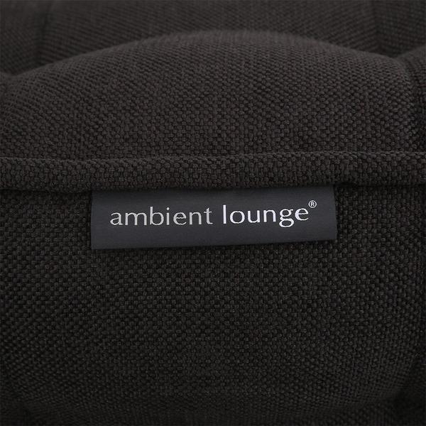 ambient lounge poef twin ottoman black sapphire