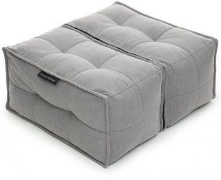 Ambient Lounge Poef Twin Ottoman - Keystone Grey