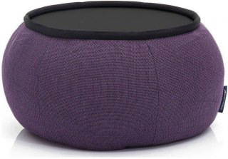 Ambient Lounge Poef Versa Table - Aubergine Dream