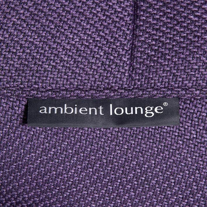 ambient lounge poef versa table aubergine dream