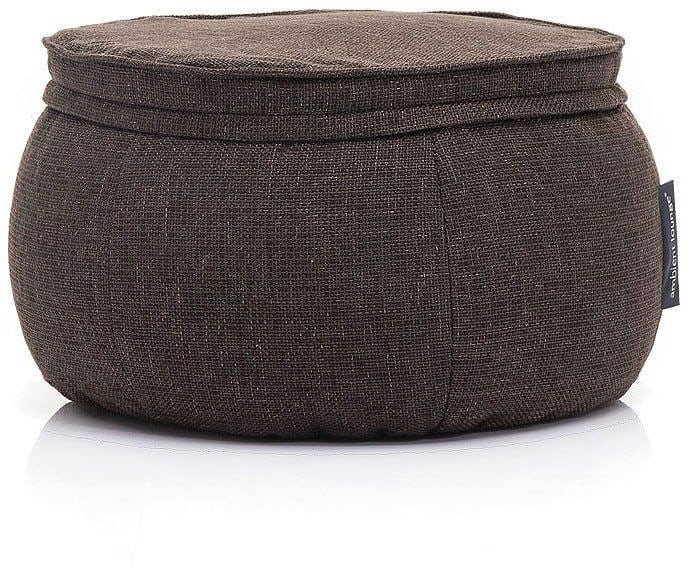 ambient lounge poef wing ottoman hot chocolate