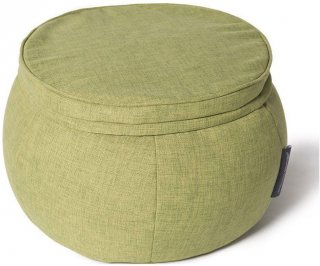 Ambient Lounge Poef Wing Ottoman - Lime Citrus