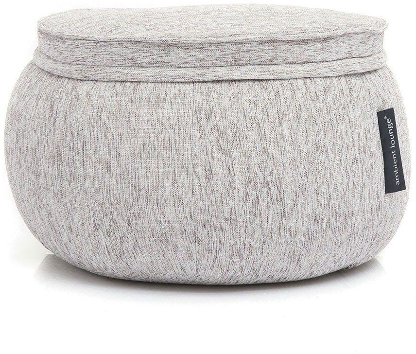ambient lounge poef wing ottoman tundra spring
