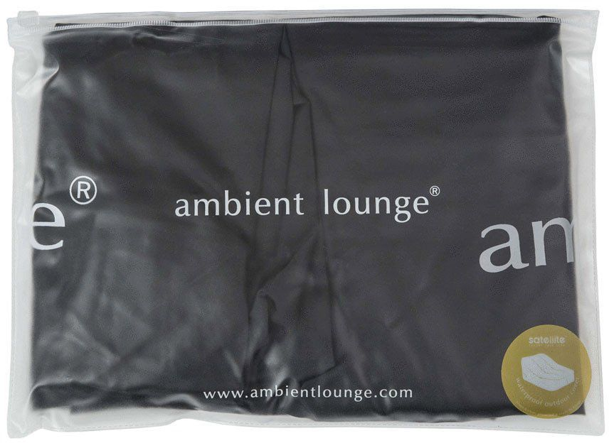 ambient lounge satellite sofa fitted cover zwart