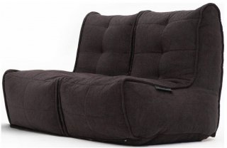 Ambient Lounge Twin Couch - Black Sapphire
