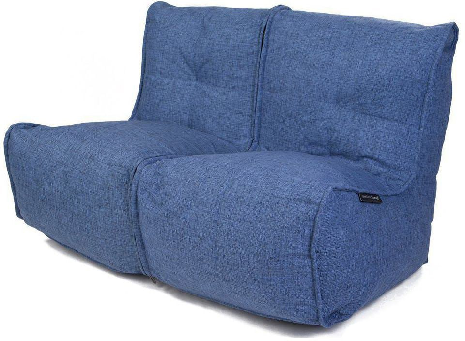 ambient lounge twin couch blue jazz