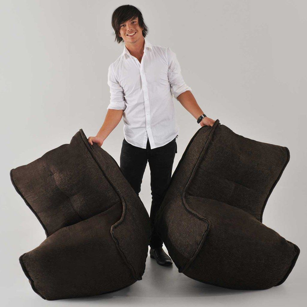 ambient lounge twin couch eco weave