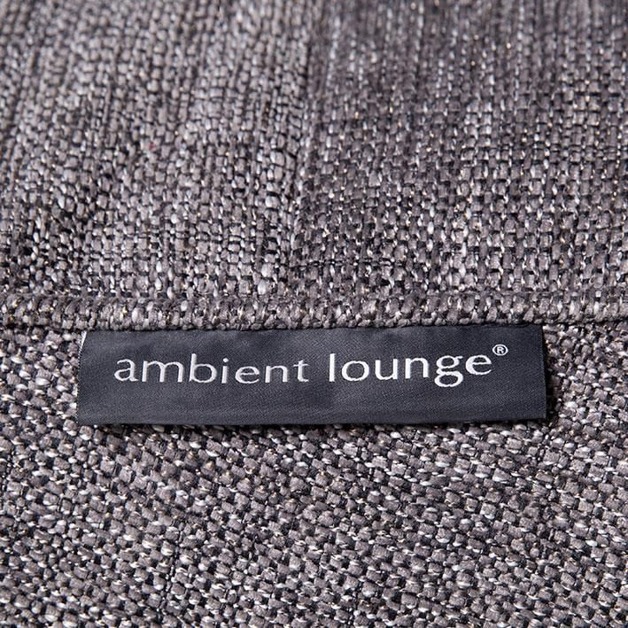 ambient lounge twin couch luscious grey