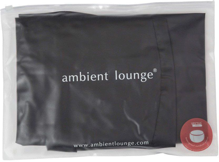 ambient lounge versa table fitted cover zwart