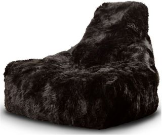 Extreme Lounging B-Bag Mighty-B Indoor Zitzak Sheepskin - Bruin