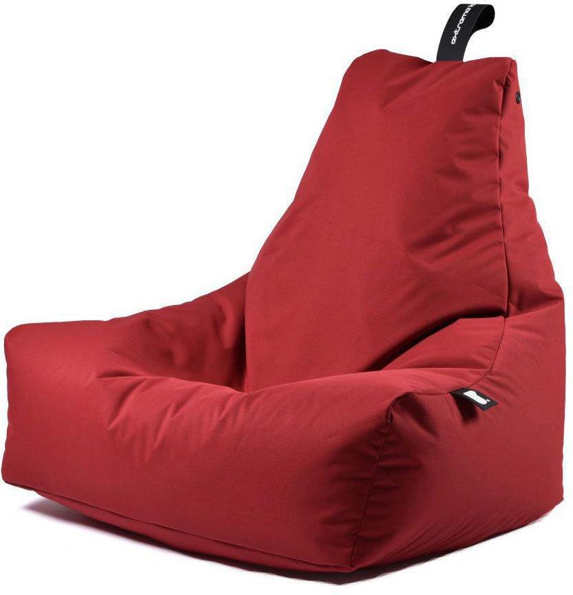 extreme lounging bbag mightyb zitzak rood