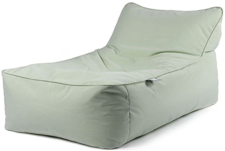 extreme lounging bbed lounger ligbed pastel groen