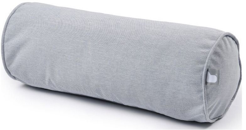 extreme lounging bbolster rolkussen pastel grijs