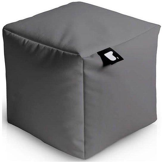 extreme lounging bbox poef grijs