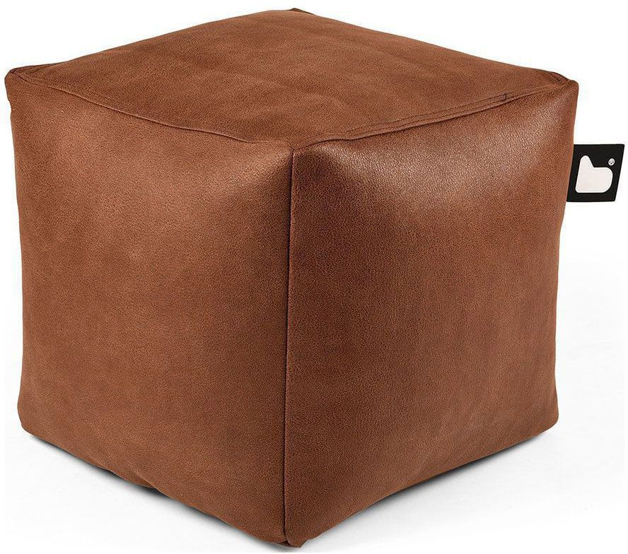 extreme lounging bbox poef indoor chestnut