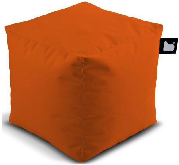 extreme lounging bbox poef oranje