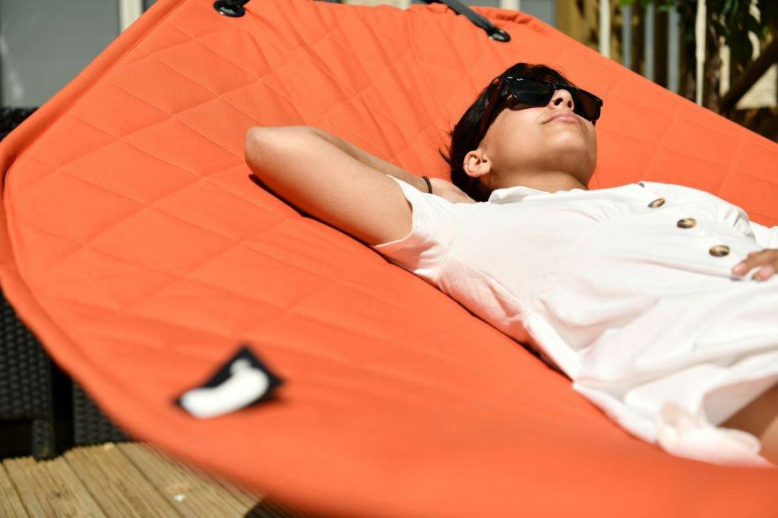 extreme lounging bhammock set hangmat oranje