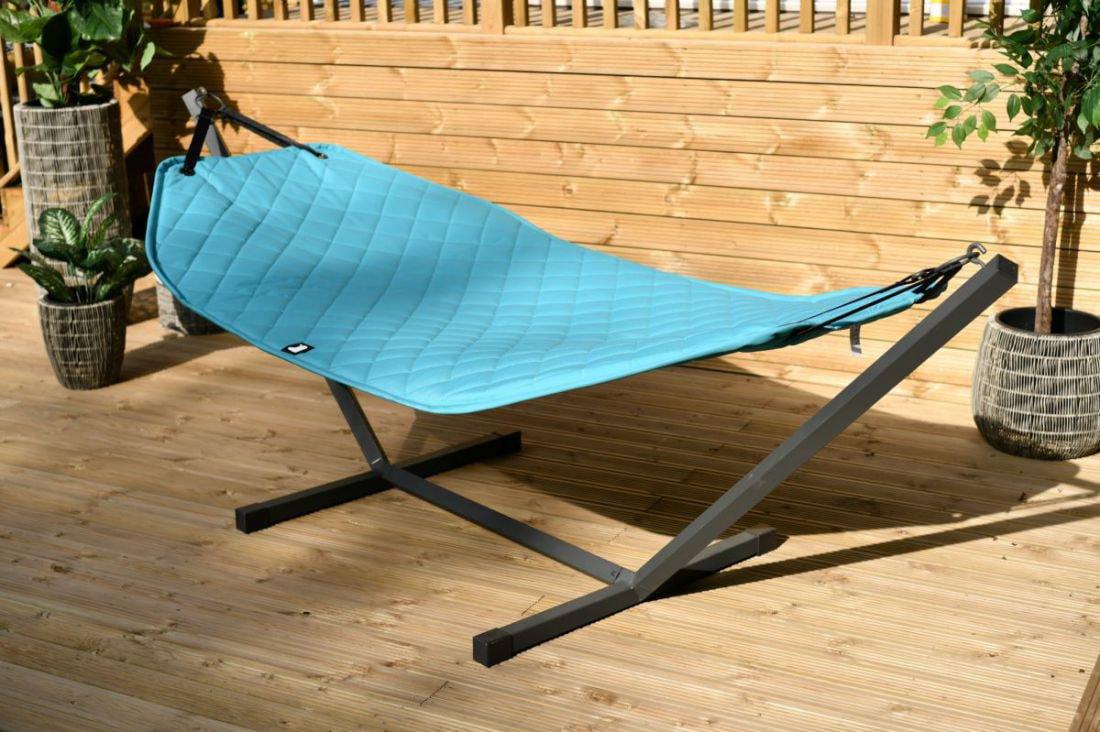 extreme lounging bhammock set hangmat turquoise