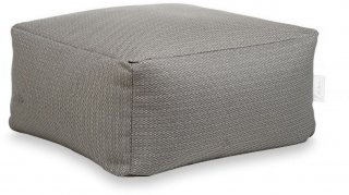 Laui Lounge Poef Basic Square Outdoor - Stone Grey