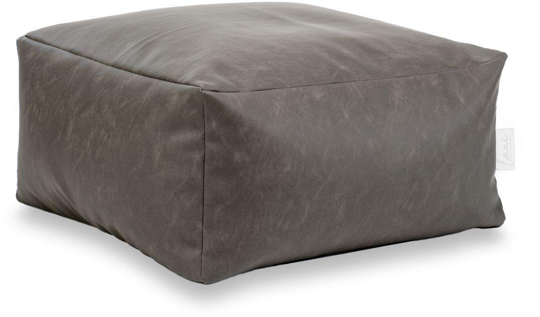 laui lounge poef loft square outdoor stone grey