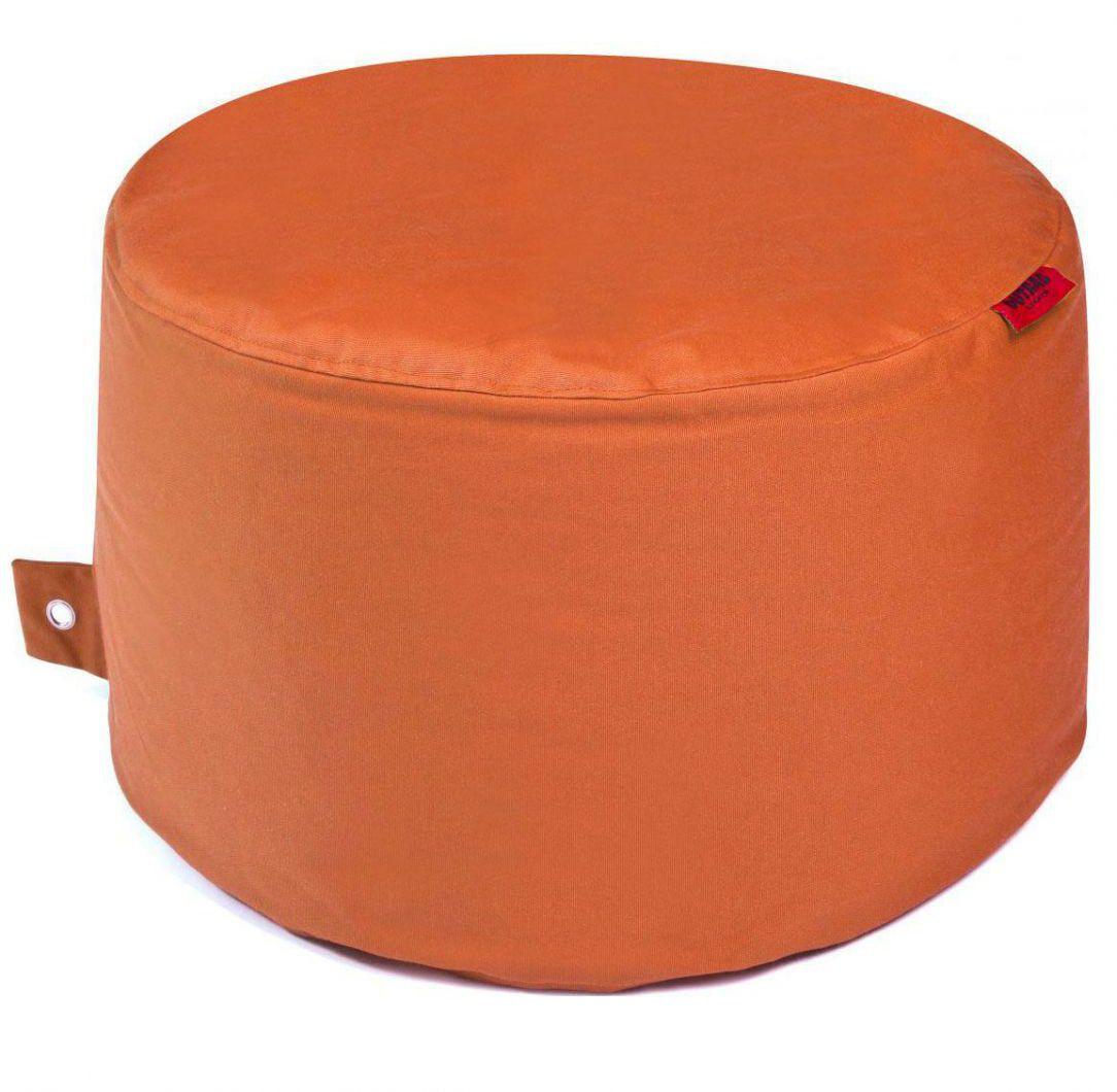 outbag poef rock plus oranje