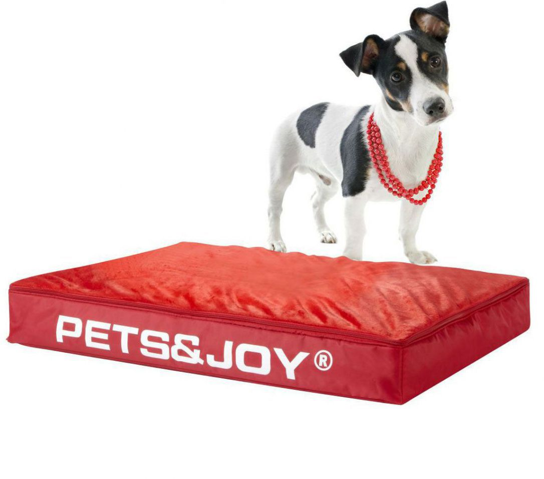 sitjoy dog bed medium rood