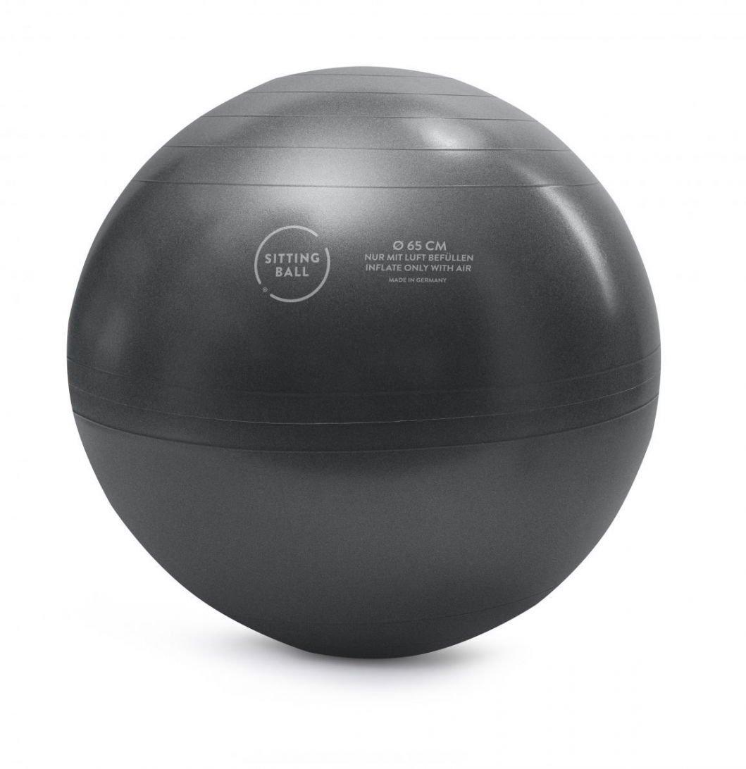 sitting ball zitbal fluffy 65 cm pink