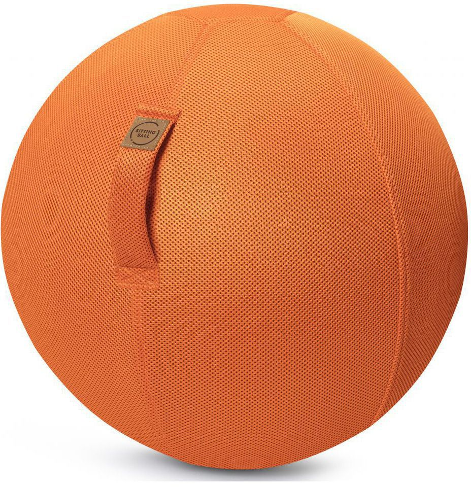 sitting ball zitbal mesh 65 cm orange
