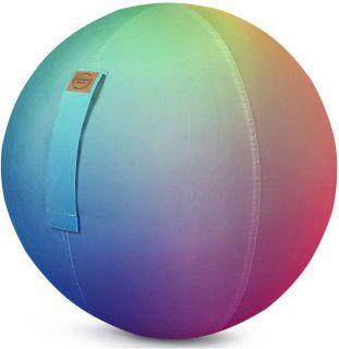 Sitting Ball Zitbal Rainbow 65 cm