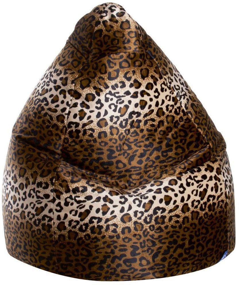 sitting point beanbag afro xxl panter