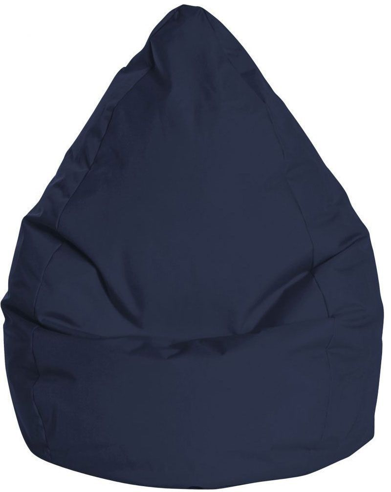 sitting point beanbag brava xxl jeansblauw