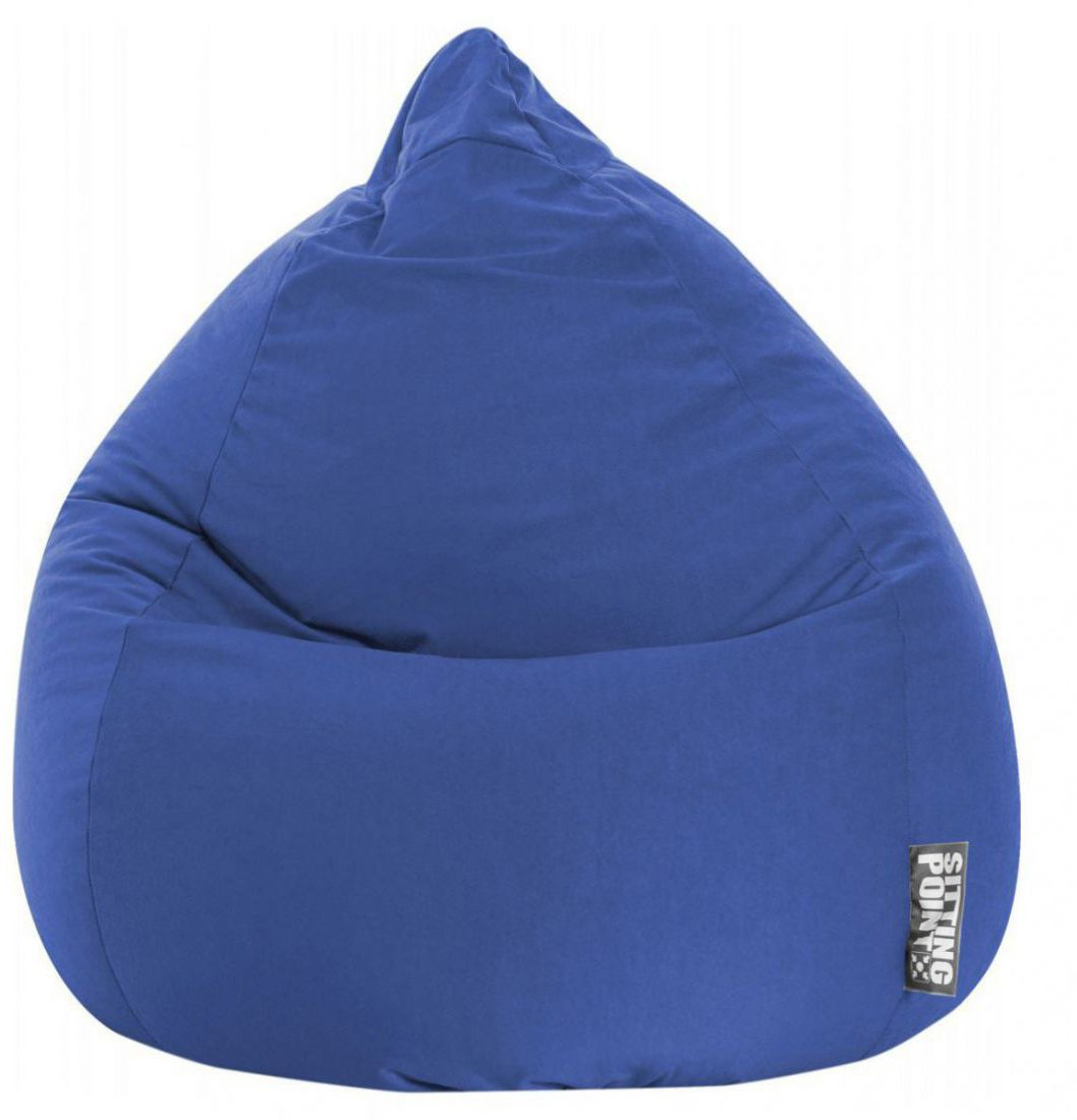 sitting point beanbag easy xl donkerblauw