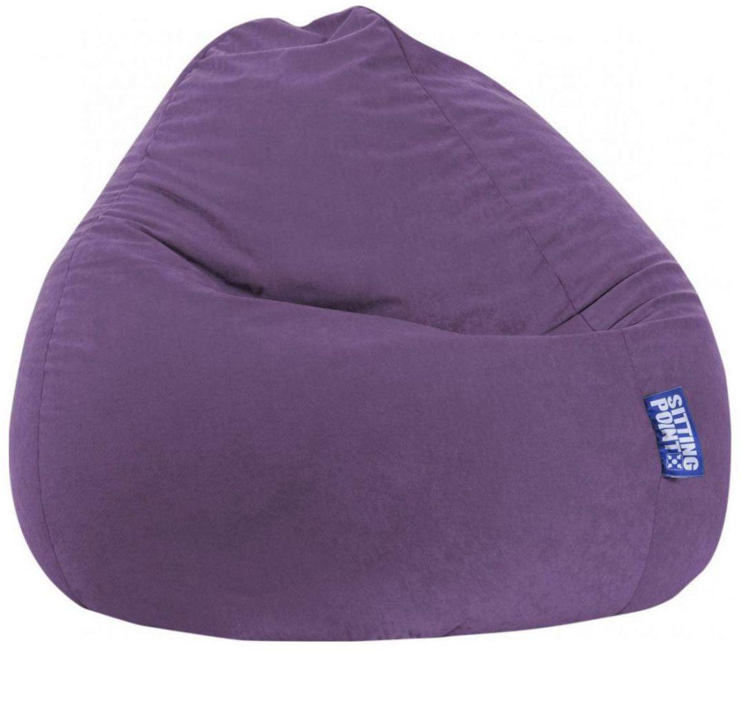 sitting point beanbag easy xxl lila