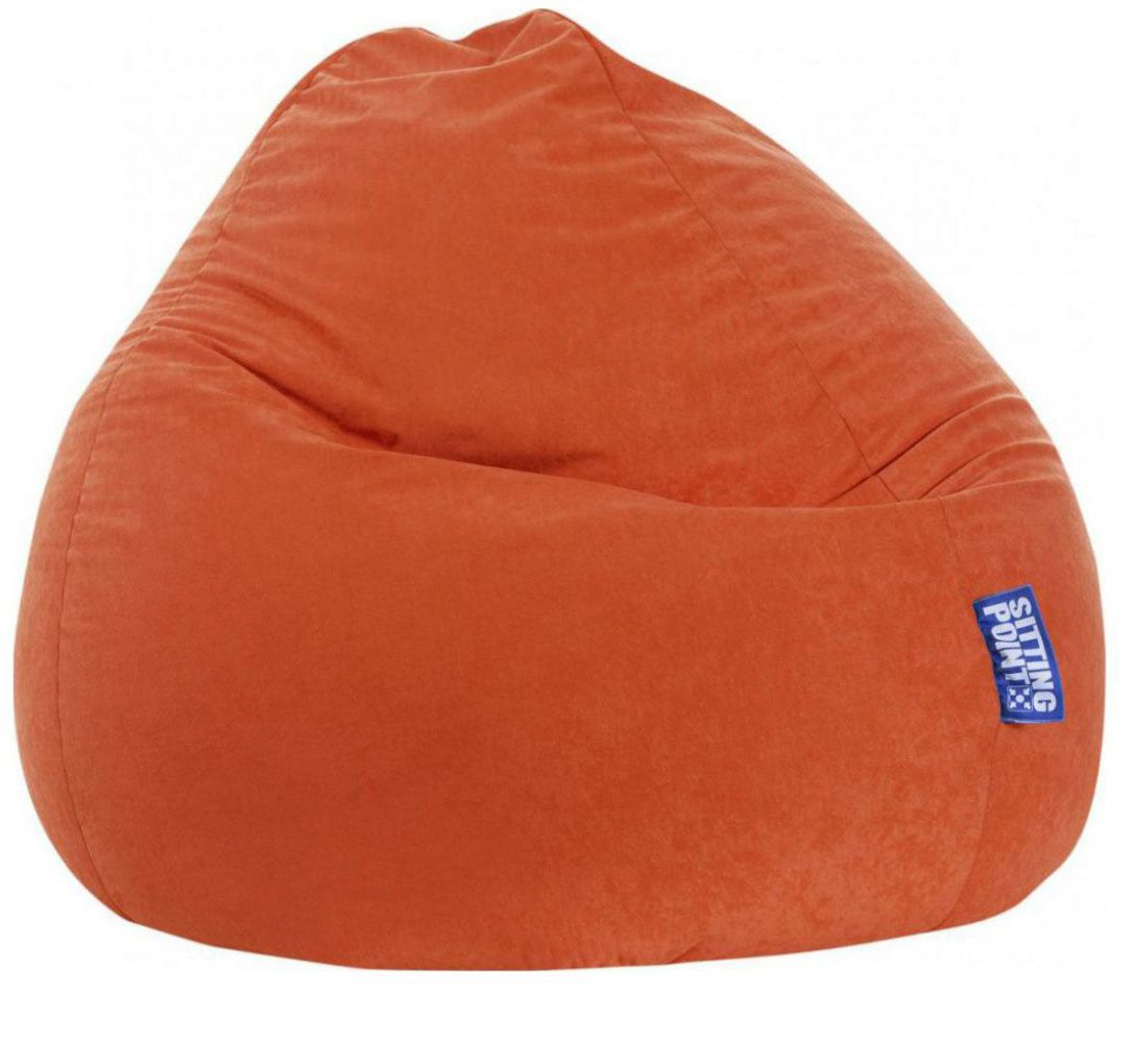 sitting point beanbag easy xxl oranje
