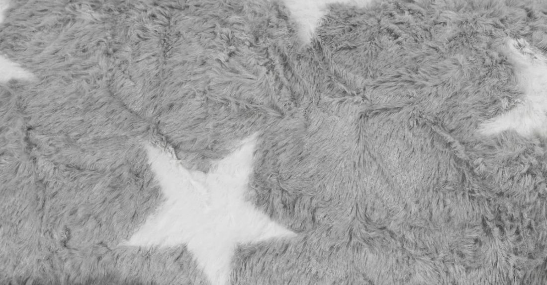 sitting point beanbag fluffy stars xl turquoise