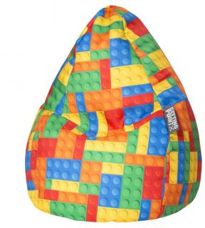 Sitting Point BeanBag Kinder Zitzak Bricks L