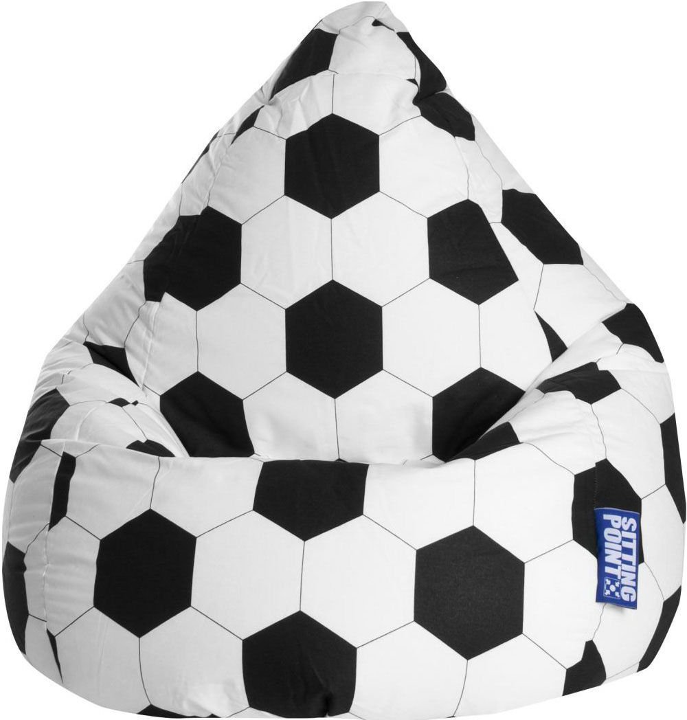 sitting point beanbag voetbal xl